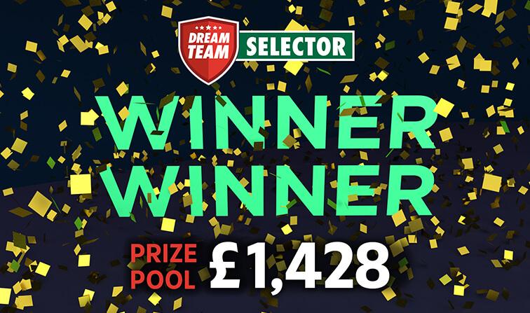 Winner £1,428