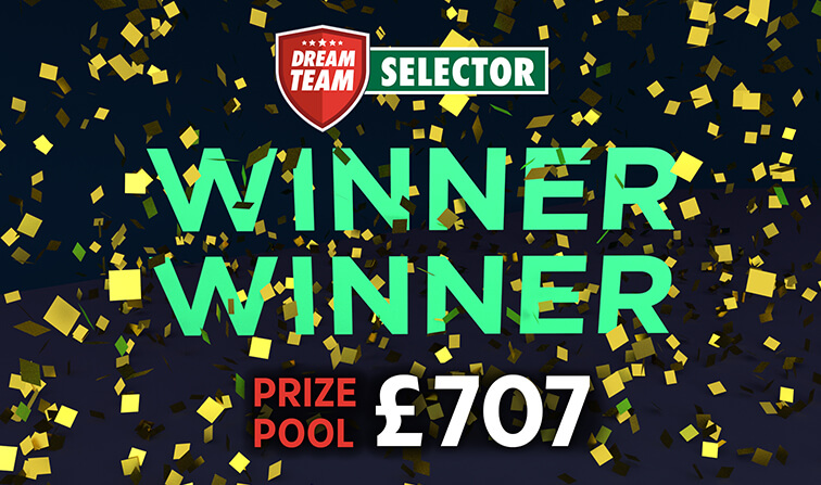 Winner £707